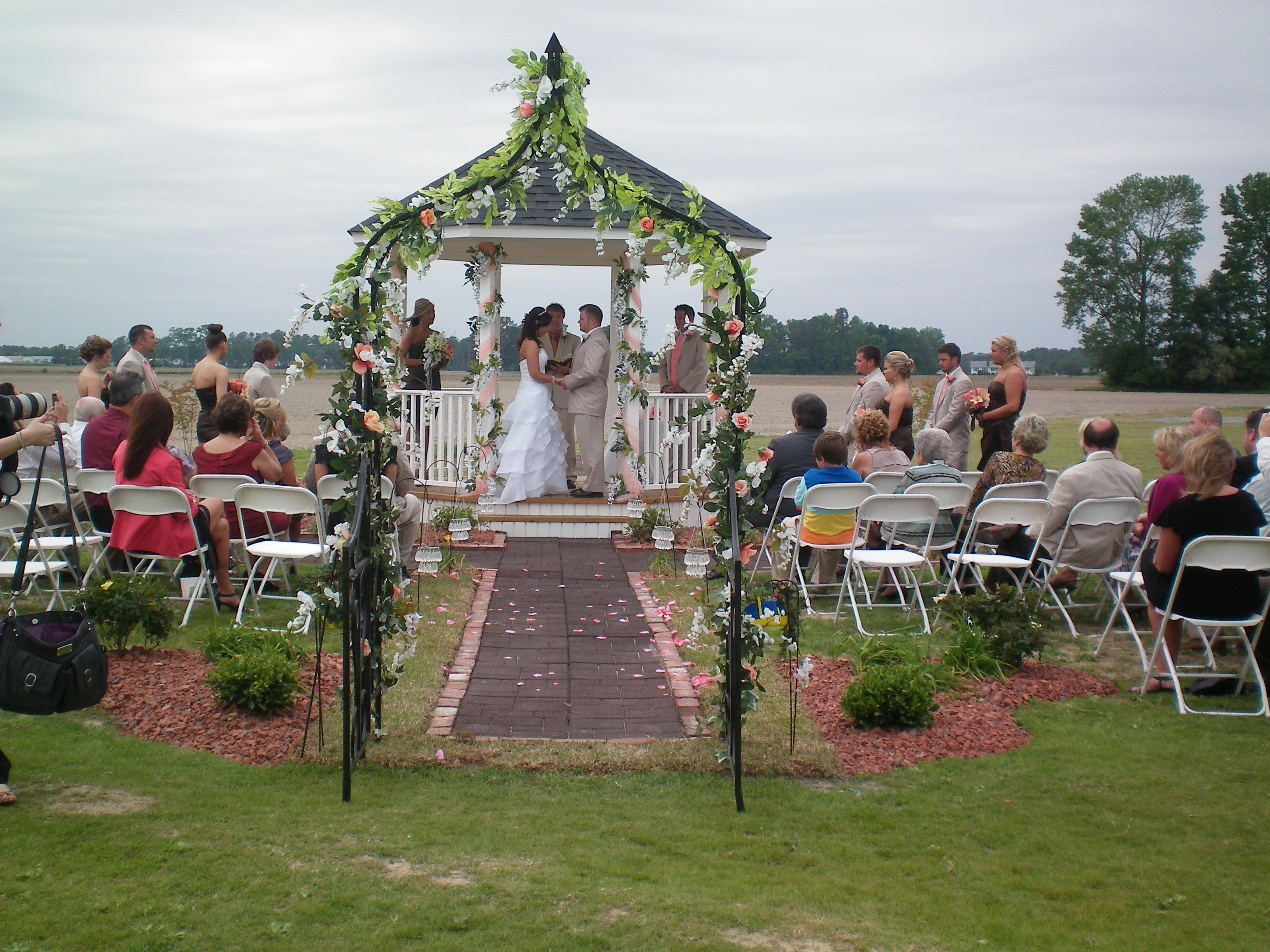 Brittany and Joseph got married in April 2012 at Hamstead Acres in LaGrange, NC