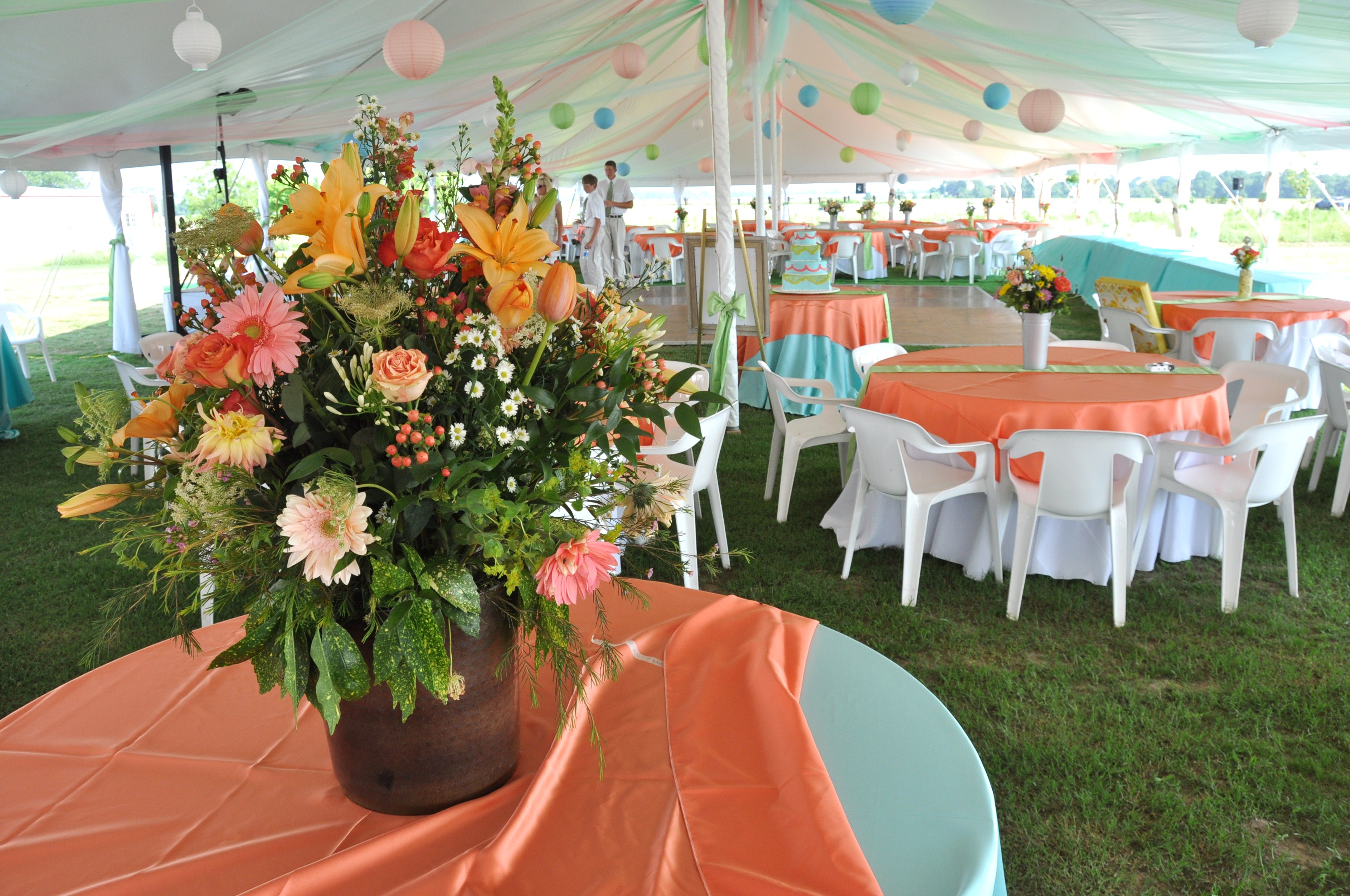 Rentals are available at Hamstead Acres for weddings and other events in Eastern North Carolina