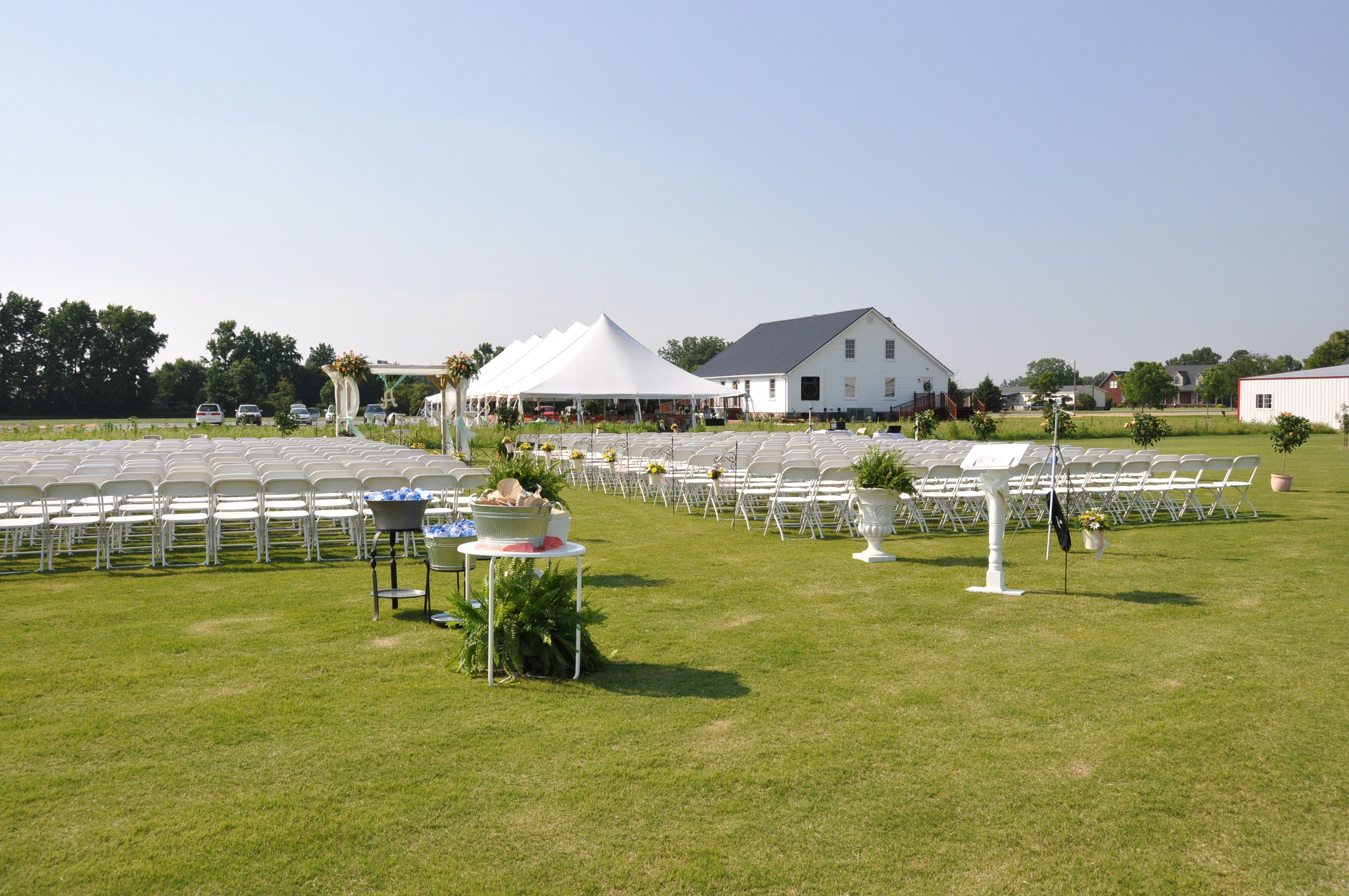 Hamstead Acres is an event venue located in LaGrange in Eastern North Carolina